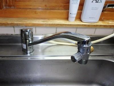 LIXIL シングル水栓 SF-HB420SYX 施工後