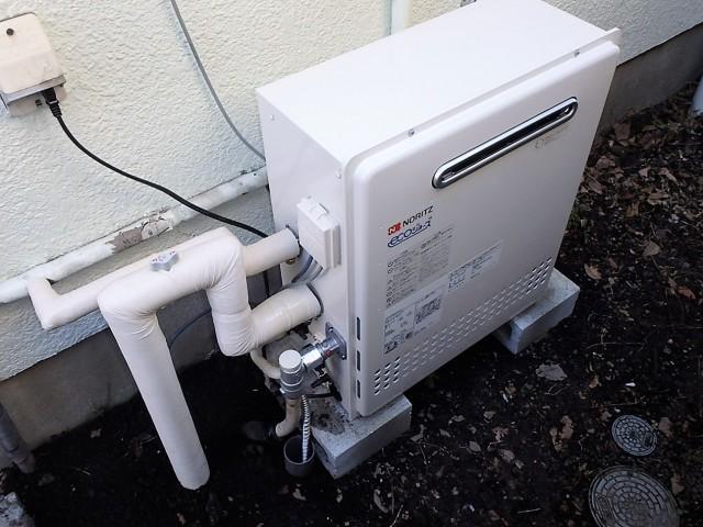 ノーリツ ガス給湯器 HCT-C2052SARX-2BL13A 施工後