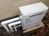 据置型ガス給湯器 ノーリツ GT-C2452SARX-2BLLPG 施工後