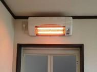 脱衣室暖房器 高須産業 SDG-1200GS