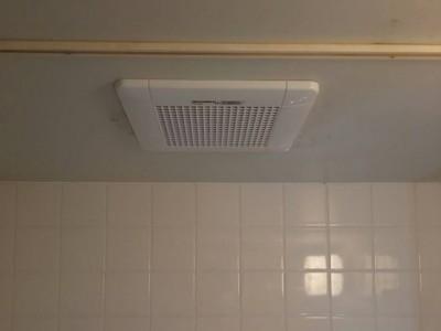 東芝 浴室換気扇交換工事 DVF-T10CB
