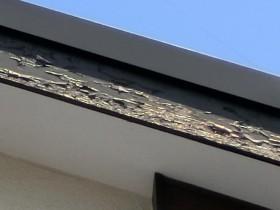 破風の塗装劣化